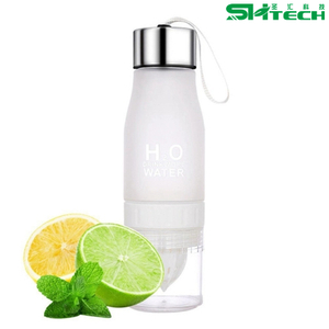 Plastic Bottle Juice Infused ,Water/Iced Tea/Lemonade Citrus Lemon Juice Plastic Water Bottle SH-N0044